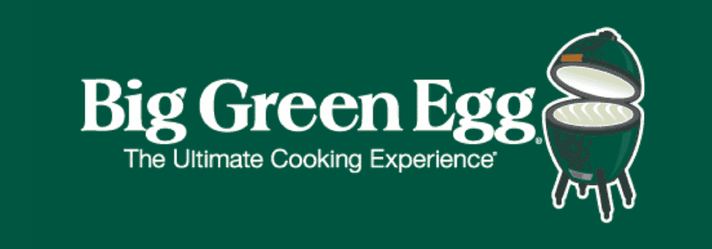 Big Green Egg banner.