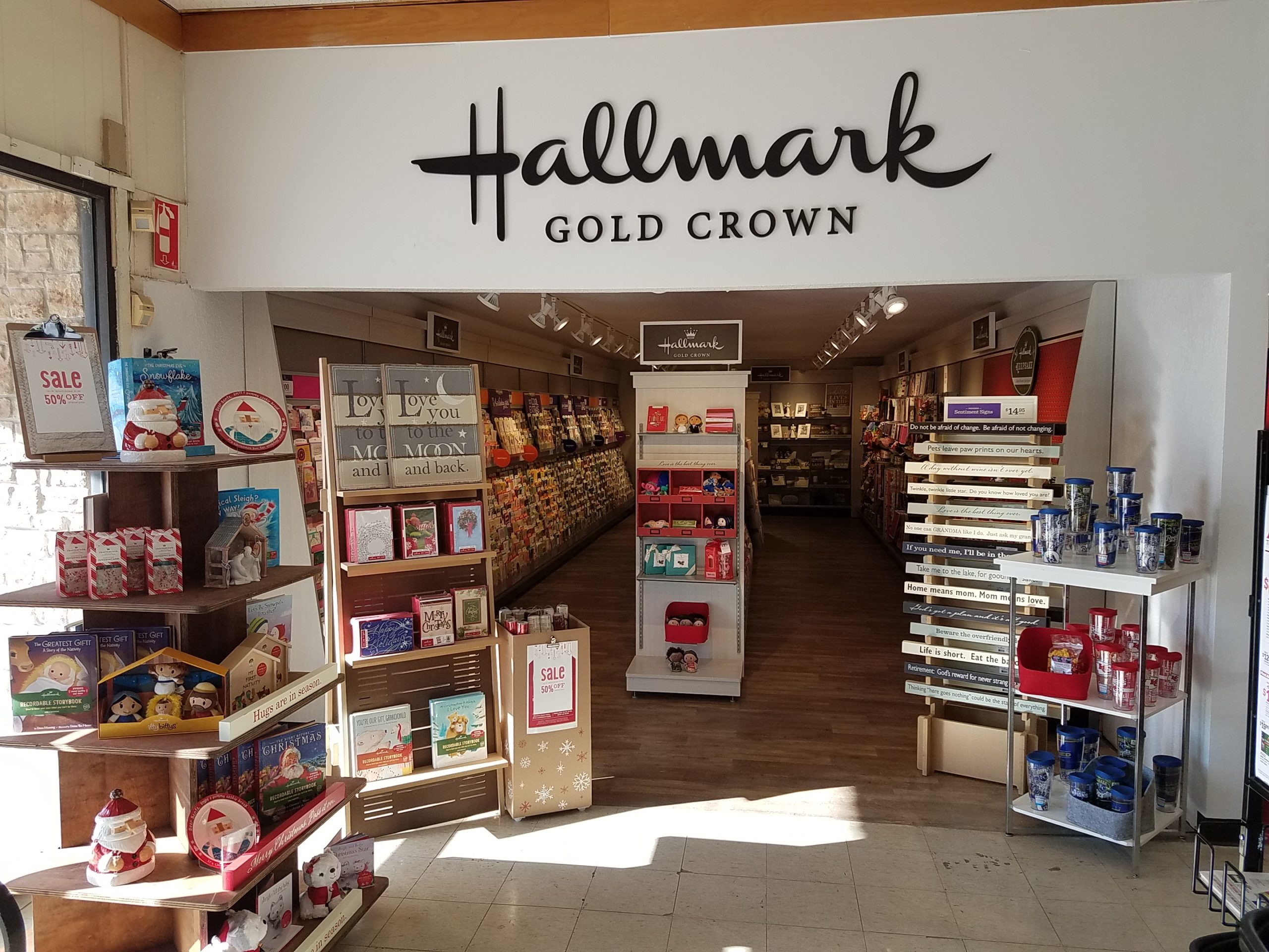 The Store Features A Wide Selection Of Gifts Greeting Cards And Collectibles